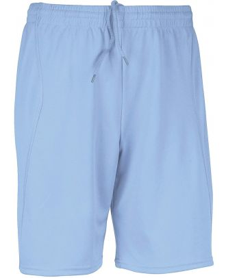 Short enfant de sport PA103 - Sky Blue