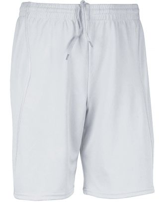 Short enfant de sport PA103 - White