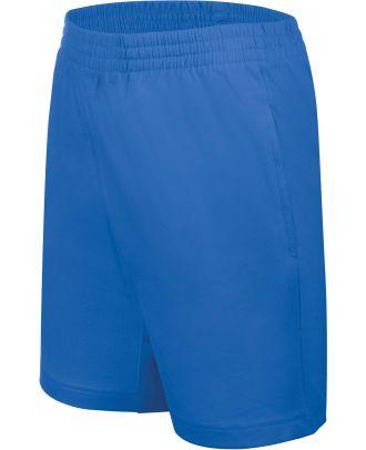 Short enfant jersey sport PA153 - Light Royal Blue