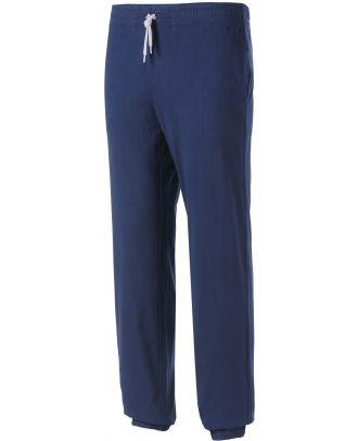 Pantalon enfant de jogging en coton léger PA187 - Navy