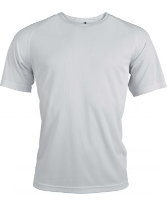 T-shirt homme manches courtes sport PA438 - White