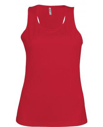 Débardeur femme sport PA442 - Red