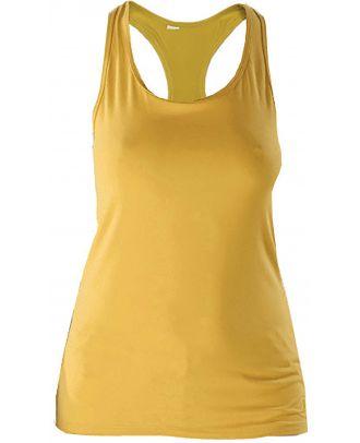 Débardeur femme sport PA474 - True Yellow