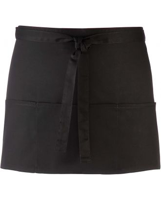 "Tablier taille ""Colours"" 3 poches PR155 - Black"