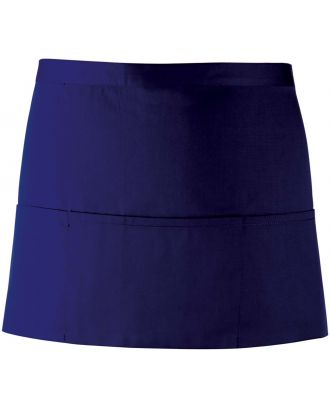 """Tablier taille """"Colours"""" 3 poches PR155 - Navy"""