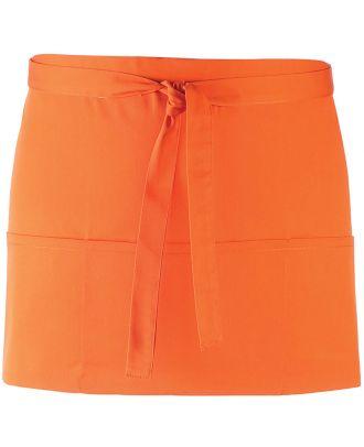 "Tablier taille ""Colours"" 3 poches PR155 - Orange"