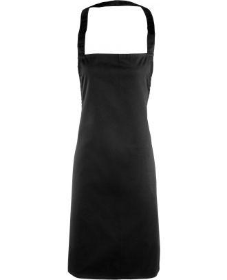 Tablier à bavette PR165 - Black