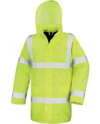 Parka High Viz Motorway R218X - Fluorescent Yellow