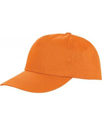 Casquette 5 panneaux Houston RC080X - Orange