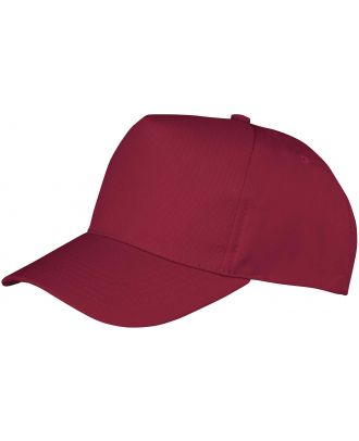Casquette Boston junior RC084J - Burgundy