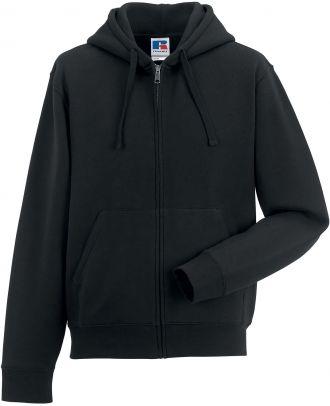 Sweat-shirt zippé capuche authentic RU266M - Black