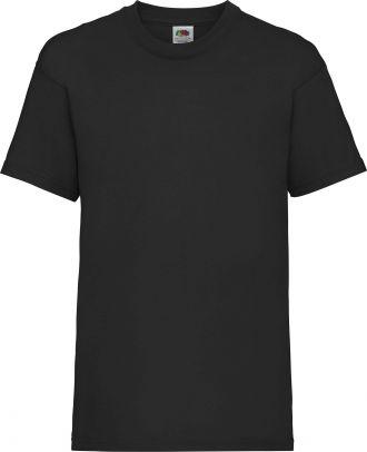 T-shirt enfant manches courtes Valueweight SC221B - Black