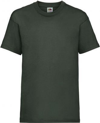 T-shirt enfant manches courtes Valueweight SC221B - Bottle Green