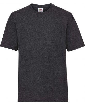 T-shirt enfant manches courtes Valueweight SC221B - Dark Heather Grey