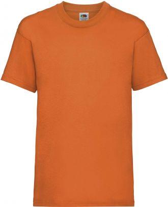 T-shirt enfant manches courtes Valueweight SC221B - Orange