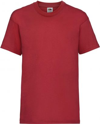T-shirt enfant manches courtes Valueweight SC221B - Red