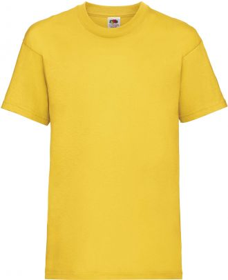 T-shirt enfant manches courtes Valueweight SC221B - Sunflower yellow