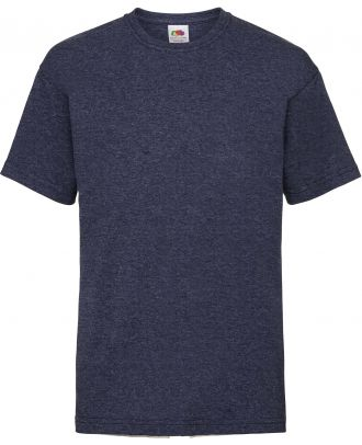 T-shirt enfant manches courtes Valueweight SC221B - Vintage Heather Navy