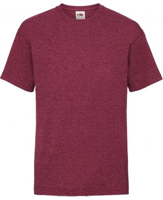 T-shirt enfant manches courtes Valueweight SC221B - Vintage Heather Red