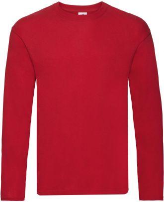 T-shirt homme manches longues Original-T SC61428 - Red