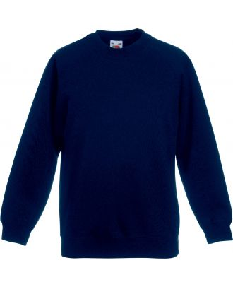 Sweat-shirt enfant manches raglan SC62039 - Navy
