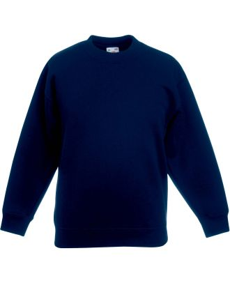 Sweat-shirt enfant col rond classic SC62041 - Deep Navy