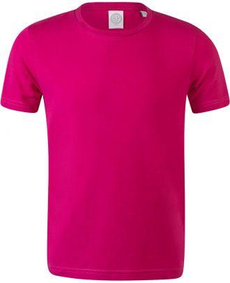T-shirt enfant stretch Feel Good SM121 - Fuchsia