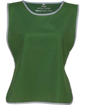 Chasuble à bordure réfléchissante HVJ259 - Paramedic Green