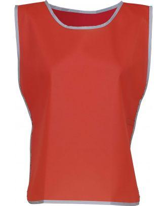 Chasuble à bordure réfléchissante HVJ259 - Red