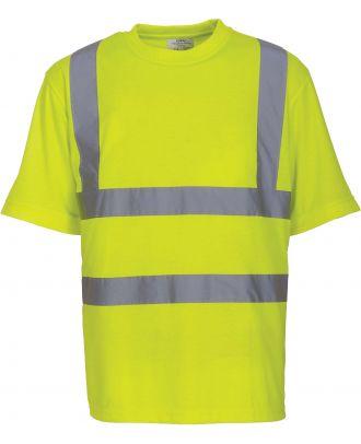 T-shirt haute visibilité HVJ410 - Hi Vis Yellow