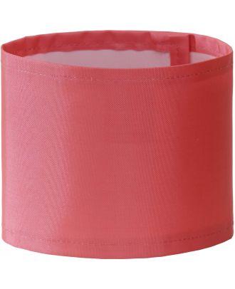 Brassard haute visibilité large personnalisable HVW066 - Pink
